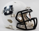 Utah State Speed Revolution Riddell Mini Football Helmet