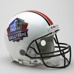 Hall of Fame Riddell Authentic NFL Full Size On Field Proline Football Helmet