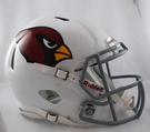 Arizona Cardinals Riddell Authentic Revolution Speed NFL Full Size On Field Football Helmet