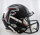 Atlanta Falcons Riddell Authentic Revolution Speed NFL Full Size On Field Football Helmet