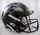 Baltimore Ravens Riddell Authentic Revolution Speed NFL Full Size On Field Football Helmet