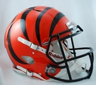 Cincinnati Bengals Riddell Authentic Revolution Speed NFL Full Size On Field Football Helmet