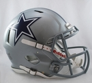 Dallas Cowboys Riddell Authentic Revolution Speed NFL Full Size On Field Football Helmet
