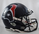 Houston Texans Riddell Authentic Revolution Speed NFL Full Size On Field Football Helmet