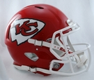 Kansas City Chiefs Riddell Authentic Revolution Speed NFL Full Size On Field Football Helmet
