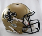 New Orleans Saints Riddell Authentic Revolution Speed NFL Full Size On Field Football Helmet