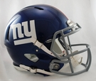 New York Giants Riddell Authentic Revolution Speed NFL Full Size On Field Football Helmet