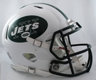New York Jets Riddell Authentic Revolution Speed NFL Full Size On Field Football Helmet