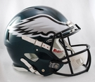 Philadelphia Eagles Riddell Authentic Revolution Speed NFL Full Size On Field Football Helmet