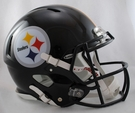 Pittsburgh Steelers Riddell Authentic Revolution Speed NFL Full Size On Field Football Helmet