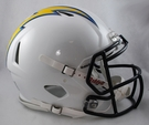 San Diego Chargers Riddell Authentic Revolution Speed NFL Full Size On Field Football Helmet