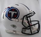 Tennessee Titans Riddell Authentic Revolution Speed NFL Full Size On Field Football Helmet