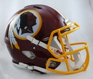Washington Redskins Riddell Authentic Revolution Speed NFL Full Size On Field Football Helmet