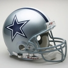 Dallas Cowboys Autographed Full Size On Field Authentic Proline Helmets