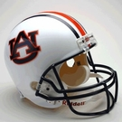 Auburn Tigers Autographed Full Size Riddell Deluxe Replica Football Helmets