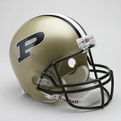 Pudue Boilermakers Autographed Full Size Riddell Deluxe Replica Football Helmets