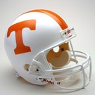 Tennessee Volunteers Autographed Full Size Riddell Deluxe Replica Football Helmets