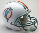Dan Marino - Autographed Miami Dolphins Throwback Riddell Full Size Authentic Proline Football Helmet