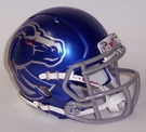 Boise State Broncos Speed Revolution Riddell Mini Football Helmet