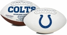 Peyton Manning - Autographed Indianapolis Colts Full Size Logo Football