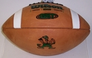 Wilson Official Leather Notre Dame F1003 GST NCAA Football