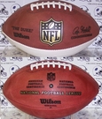 "Wilson F1180 NFL® Signature Series Autograph Football ""THE DUKE"""