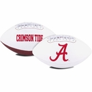 Alabama Crimson Tide Logo Full Size Signature Series Football