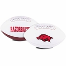 Arkansas Razorbacks Logo Full Size Signature Series Football