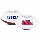 Mississippi Ole Miss Logo Full Size Signature Series Football