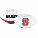 North Carolina State Logo Full Size Signature Series Football