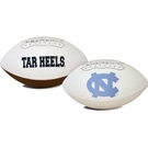 North Carolina Tarheels Logo Full Size Signature Series Football