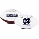 Notre Dame Fighting Irish Logo Full Size Signature Series Football