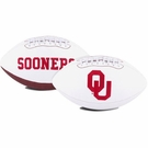 Oklahoma Sooners Logo Full Size Signature Series Football