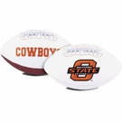 Oklahoma State Cowboys Logo Full Size Signature Series Football