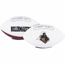 Purdue Boilermakers Logo Full Size Signature Series Football
