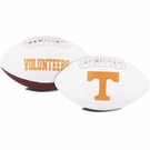 Tennessee Volunteers Logo Full Size Signature Series Football