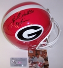 Herschel Walker - Full Size Riddell Football Helmet - Georgia Bulldogs