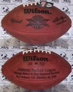 Wilson F1007 Official Leather NFL Super Bowl XX Game Football