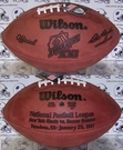 Wilson F1007 Official Leather NFL Super Bowl XXI Game Football