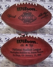 Wilson F1007 Official Leather NFL Super Bowl XXII Game Football