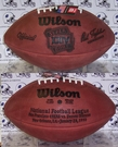 Wilson F1007 Official Leather NFL Super Bowl XXIV Game Football