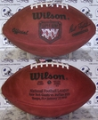 Wilson F1007 Official Leather NFL Super Bowl XXV Game Football