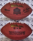Wilson F1007 Official Leather NFL Super Bowl XXVII Game Football