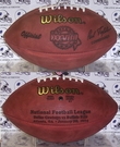 Wilson F1007 Official Leather NFL Super Bowl XXVIII Game Football