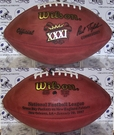 Wilson F1007 Official Leather NFL Super Bowl XXXI Game Football