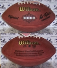 Wilson F1007 Official Leather NFL Super Bowl XXXII Game Football