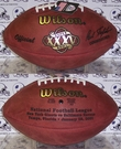 Wilson F1007 Official Leather NFL Super Bowl XXXV Game Football