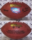 Wilson F1007 Official Leather NFL Super Bowl XXXVI Game Football
