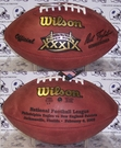 Wilson F1007 Official Leather NFL Super Bowl XXXIX Game Football