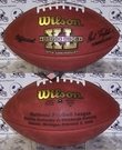 Wilson F1007 Official Leather NFL Super Bowl XL Game Football